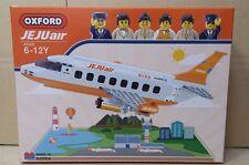 RARE JEJU Air Airline Limited Edition OXFORD Block Brick Airplane Korea Aviation