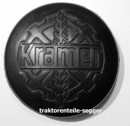 Blinddeckel mit Kramer Logo für Kramer KB12 KB22 KL11 KL250 Schlepper Traktor