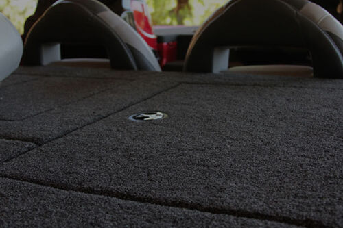 Aggressor 160 Bass Boat Carpet Gunmetal Gray color  OEM Carpet Supplier