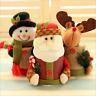 Christmas Candy Pot Snowman Santa Storage Bottle Xmas Box Gift Home Party Decor