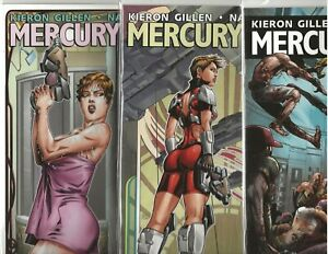 MERCURY HEAT  7    COMIC LOT     ALL NM        AVATAR /  SCIFI