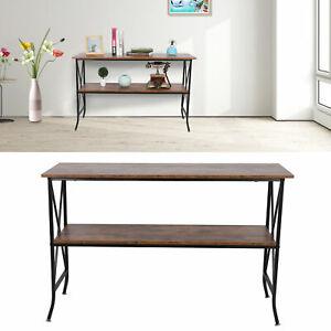 FR Table de Console Table d'Appoint Table d'entrée Table de Salon pour Entré