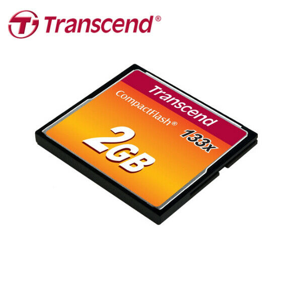 Transcend 2Go 133X UDMA4 Compact Flash Card Read Speed Up To 50MB /s
