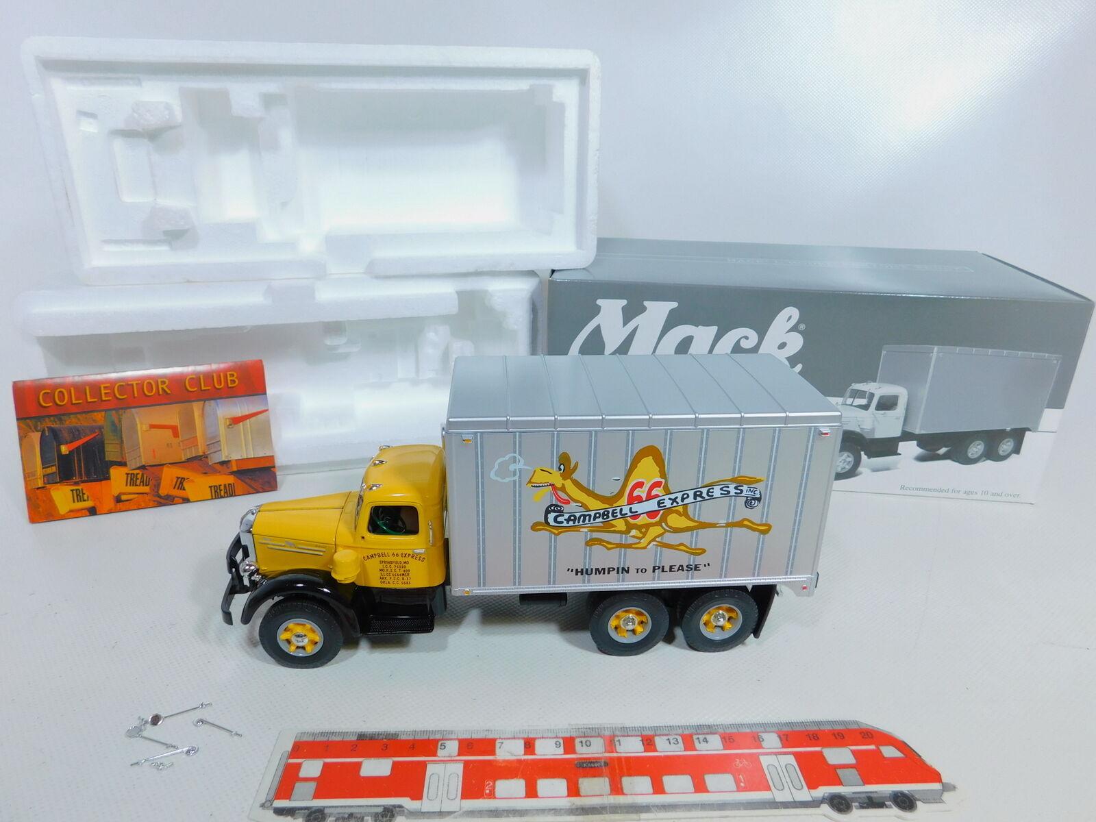 Ca132-2first Gear 1 34 19-3170 camiones mack l Model campbell 66 Express, top + embalaje original