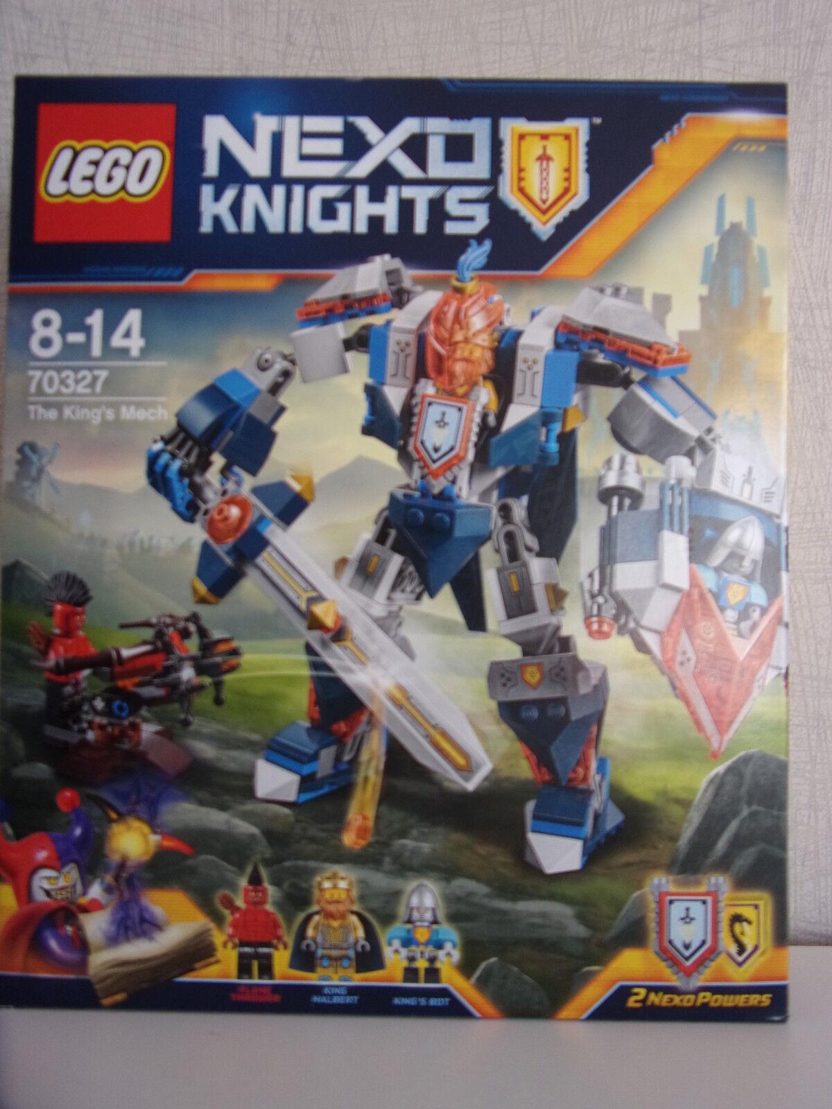 Lego Nexo Knights 70327 (Der MECH des RE) - NUOVO E IN CONFEZIONE ORIGINALE