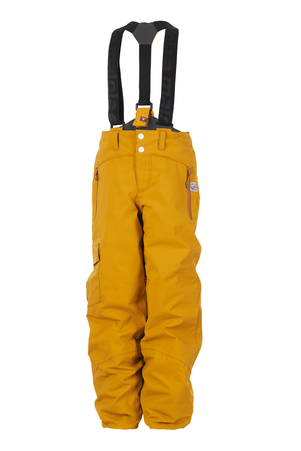 Maloja Ski Pants Snow Pants Bendu. Yellow Stormstopper Growing with Unisex