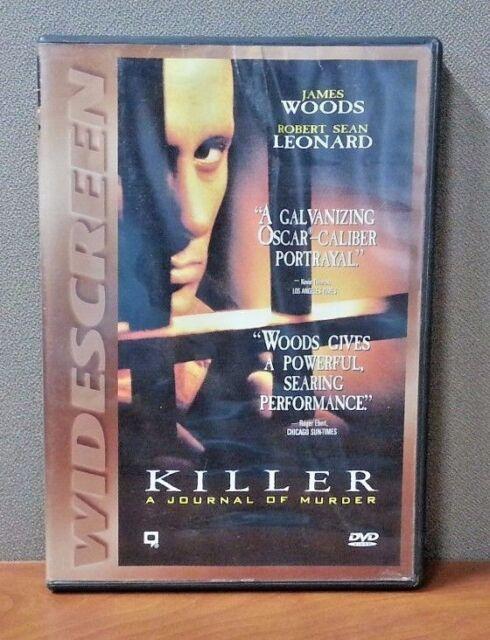 Killer: A Journal of Murder (DVD, 1995) LIKE NEW