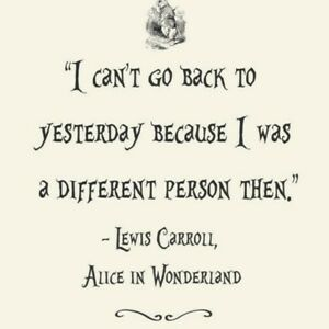 Inspirational-Art-Print-Alice-in-Wonderland-Quote-A4-Card-Picture-Poster