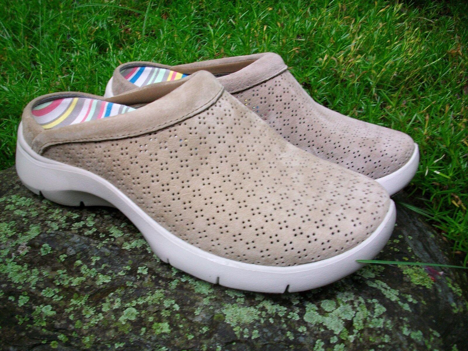 la vostra soddisfazione è il nostro obiettivo New Donna  Dansko Elin Elin Elin Suede Mocha Slip-On Mules Clogs scarpeDimensione 36M US 5.5-6  best-seller