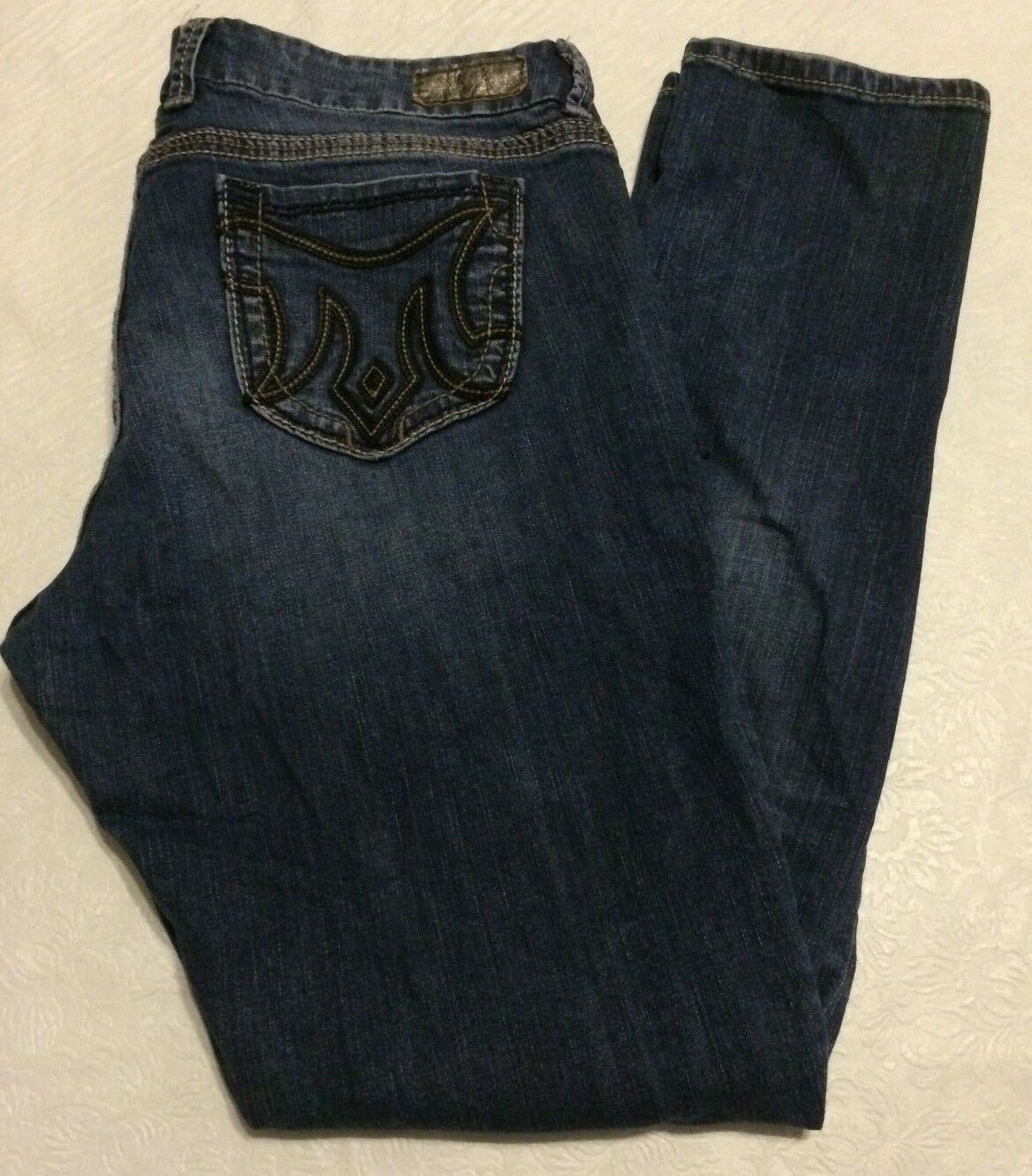 MEK Varni Slouchy skinny distressed jeans womens size 30x31    used