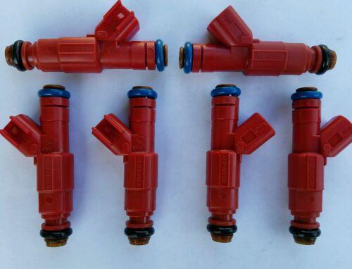 4.0L EV6 Fuel Injector Set 6 24LB Bosch Upgrade 12 Hole Jeep Cherokee 1999