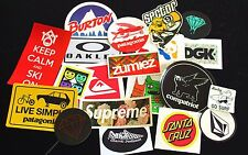 30 Assorted Skate/Ski/Snow Stickers! (Choose Your Own)