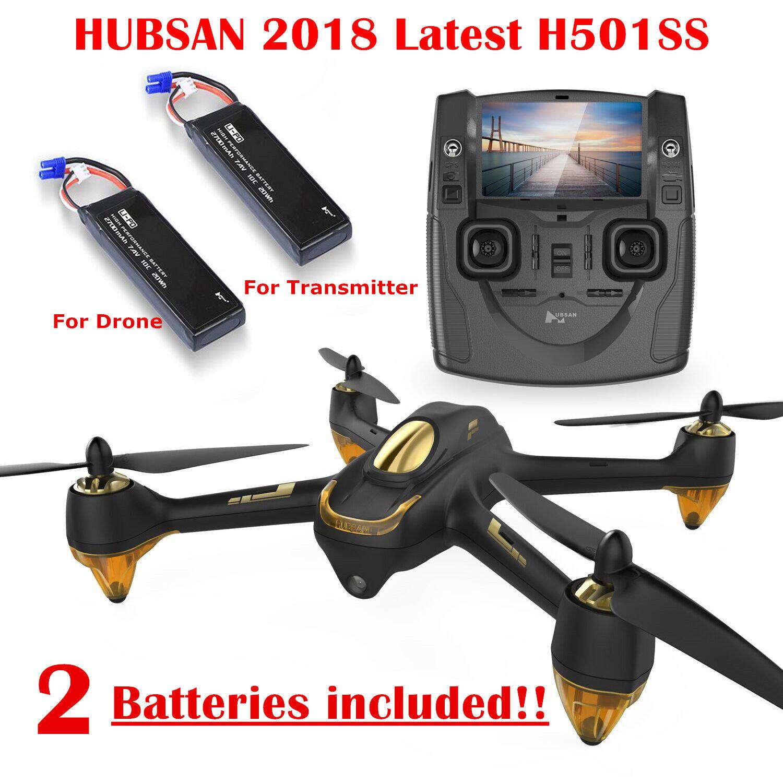 Hubsan H501S X4 BRUSHELESS FPV Quadcopter Drone 1080P Camera GPS Follow Me RTF