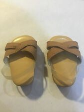RETIRED American Girl Doll Julie Meet Outfit Sandals Shoes ONLY