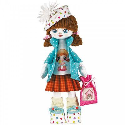 DIY Doll Sewing Kit Make a Doll Set Creativity for Girls Kukla Nova Sloboda