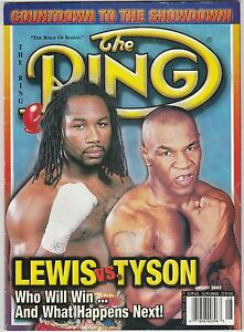 THE-RING-MAGAZINE-LENNOX-LEWIS-MIKE-TYSON-BOXING-HOFers-COVER-AUGUST-2002