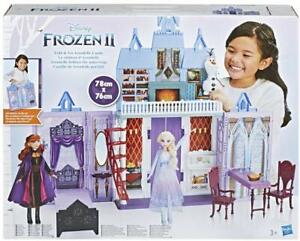 Frozen-2-Castillo-de-Arendelle-Portatil-Plegable-Munecas-Elsa-Y-Anna-Incluidas