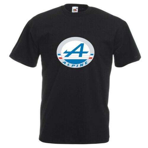 Renault Alpine T-Shirt Classic French Car Enthusiast VARIOUS SIZES /& COLOURS