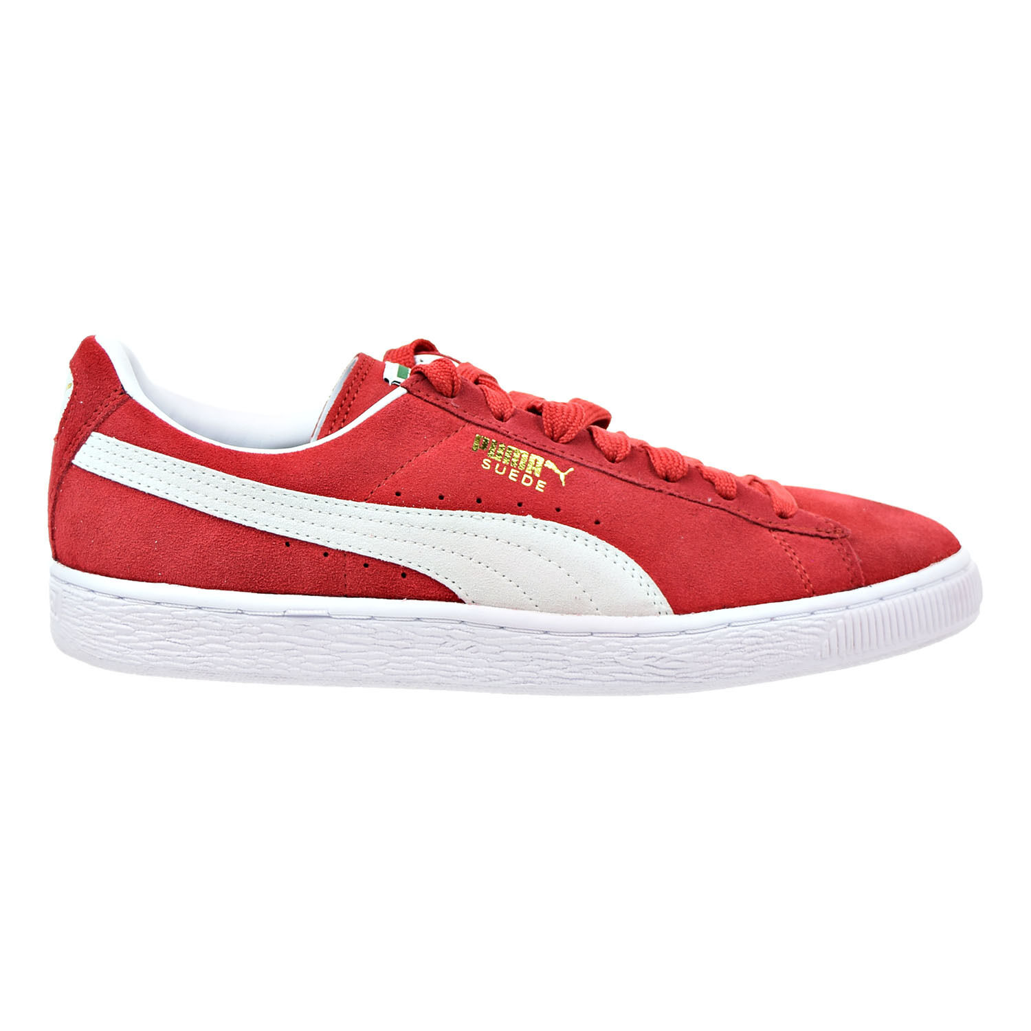 Puma Suede Classic hommes Sneakers High Risk rouge -blanc 352634-65