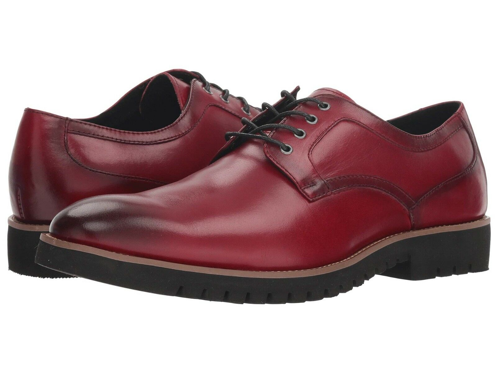 Stacy Adams Barclay Men's Oxfords Cranberry Leather Casual shoes 25230-608