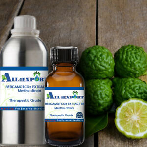 Details about PURE BERGAMOT CO2 EXTRACT OIL Citrus bergamia NATURAL  AYURVEDA HERBAL