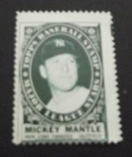 1961 Topps Baseball Mickey Mantle Stamp
