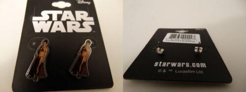 Boba Fett Princesse Leia Stormtrooper Boucles d/'oreilles Star Wars Stud Oreille Anneaux