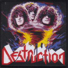DESTRUCTION-ETERNAL DEVASTATION- WOVEN PATCH-THRASH METAL