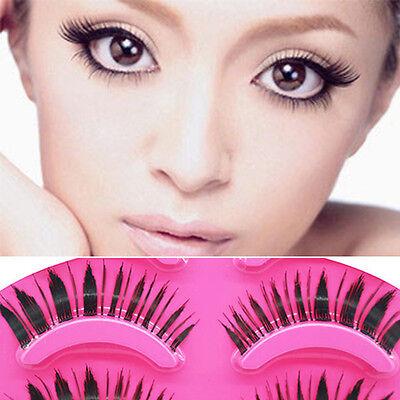 5 Pairs Makeup Handmade Natural Thick False Eyelashes Long Eye Lashes Extension