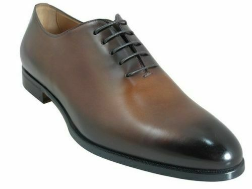 Mens Handmade scarpe Classic Marroneee Leather Lace Up Formal Dress Casual Wear stivali