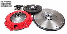AF STAGE 2 CLUTCH KIT+NEW OEM FLYWHEEL ACURA RSX/TSX HONDA CIVIC SI 2.0L 2.4L