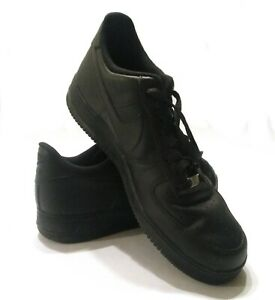 competitive price c12da bf137 Details about Nike Black Air Force One AF1 Mens Size 15 Low Top Shoes  Sneakers 315122-001