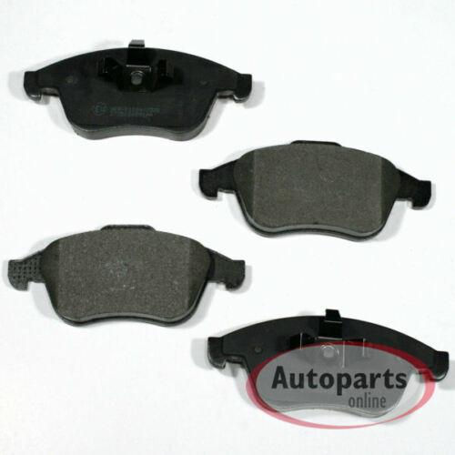Bremsbeläge Bremsklötze für vorne die Vorderachse Renault Laguna 3 III