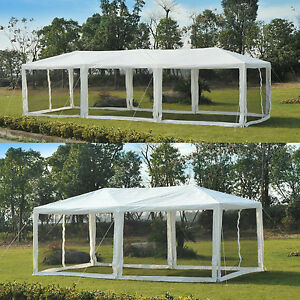 Image is loading Outdoor-Canopy-Patio-Gazebo-Party-Wedding-Tent-Pavilion- & Outdoor Canopy Patio Gazebo Party Wedding Tent Pavilion Cater w ...