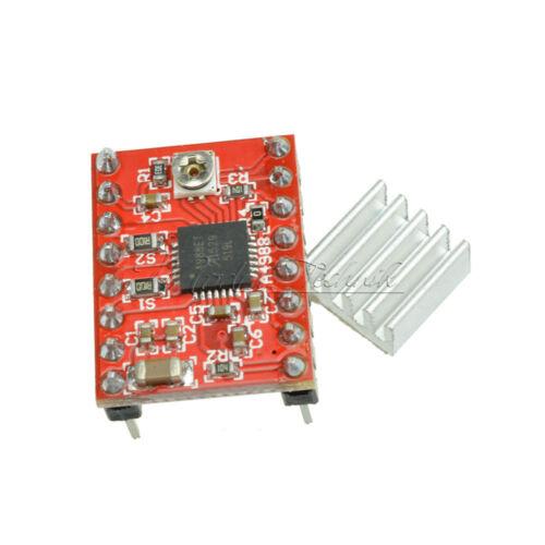 2PCS A4988 Stepper Motor Driver Module 3D Printer Polulu StepStick RAMPS RepRap