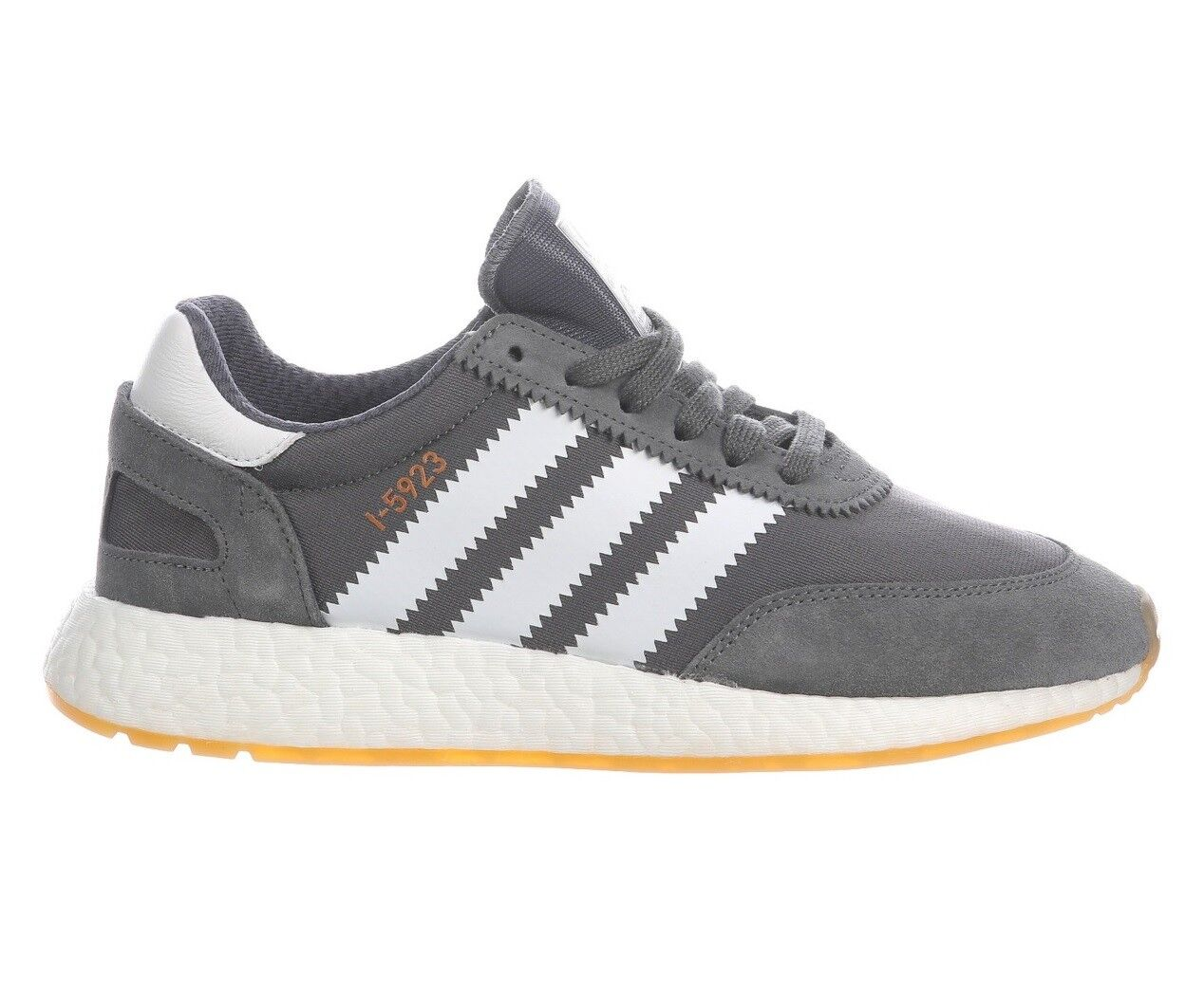 Adidas i-5923 donne bb6865 grigio bianco numero delle scarpe da corsa numero bianco 7 nabuk gomma 19ed3b