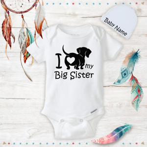 I Love My Dog so Much Long Sleeve Organic Cotton Baby Onesies Bodysuits Gift for Newborn Infant