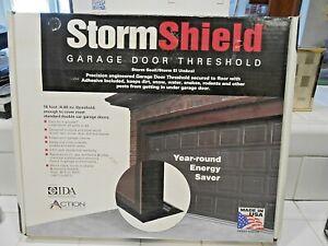 New Storm Shield Garage Door Threshold 16 Foot Kit Never Opened Ebay