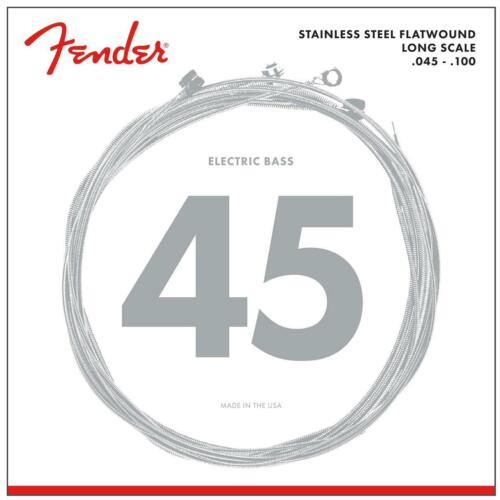 Fender 9050L Stainless Steel Flatwound Long Scale .045-.100 4-String Bass Saiten