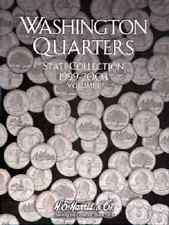 Harris Washington Quarter 1999-2003 Coin Folder H.E Album Book Volume 1 #2580