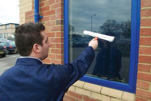 Fenster-Waescher-Rahmen-amp-Armel-Fensterwischer-Reiniger-Reinigung-Mop-Blade-Glas-Hand