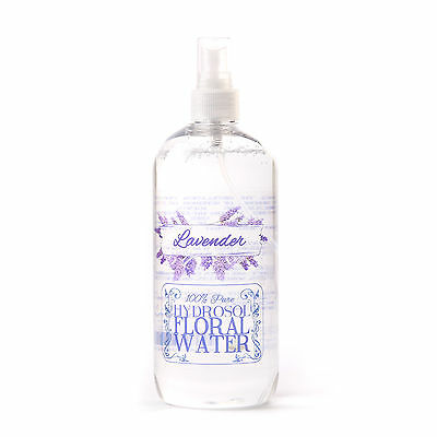 Lavender Hydrosol Floral Water With Spray Cap - 1 Litre (HFW1KLAVE)