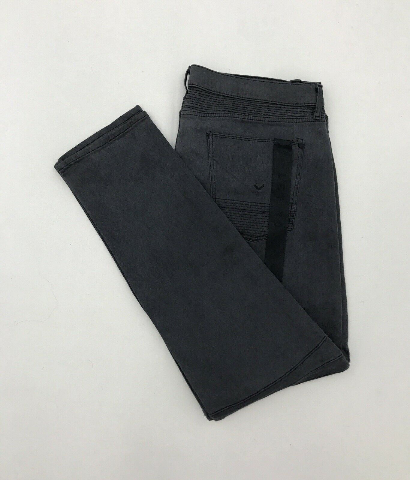 NWT Size 40X34 Men's HUDSON The Blinder Biker Skinny Stretch Denim Moto Jeans