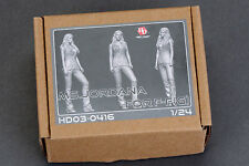 Hobby Design HD03-0416 1:24 MS.JORDANA FOR F-F (G) RESIN FIGURE