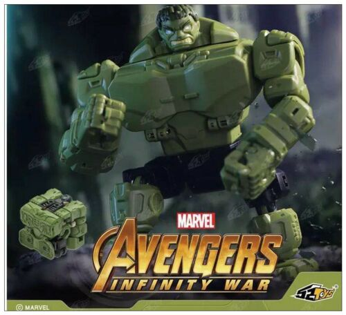 New 52Toys BEASTBOX Avengers Hulk Transformable Action Figure will arrive