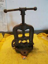 Vintage Mark Usa No 2 Pipe Vise Plumber Welder Blacksmith Bench Tool 14 To 3