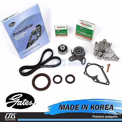 Timing Belt Kit Water Pump Fits 96-11 Hyundai Kia Accent Rio 1.5L L4 DOHC 16v