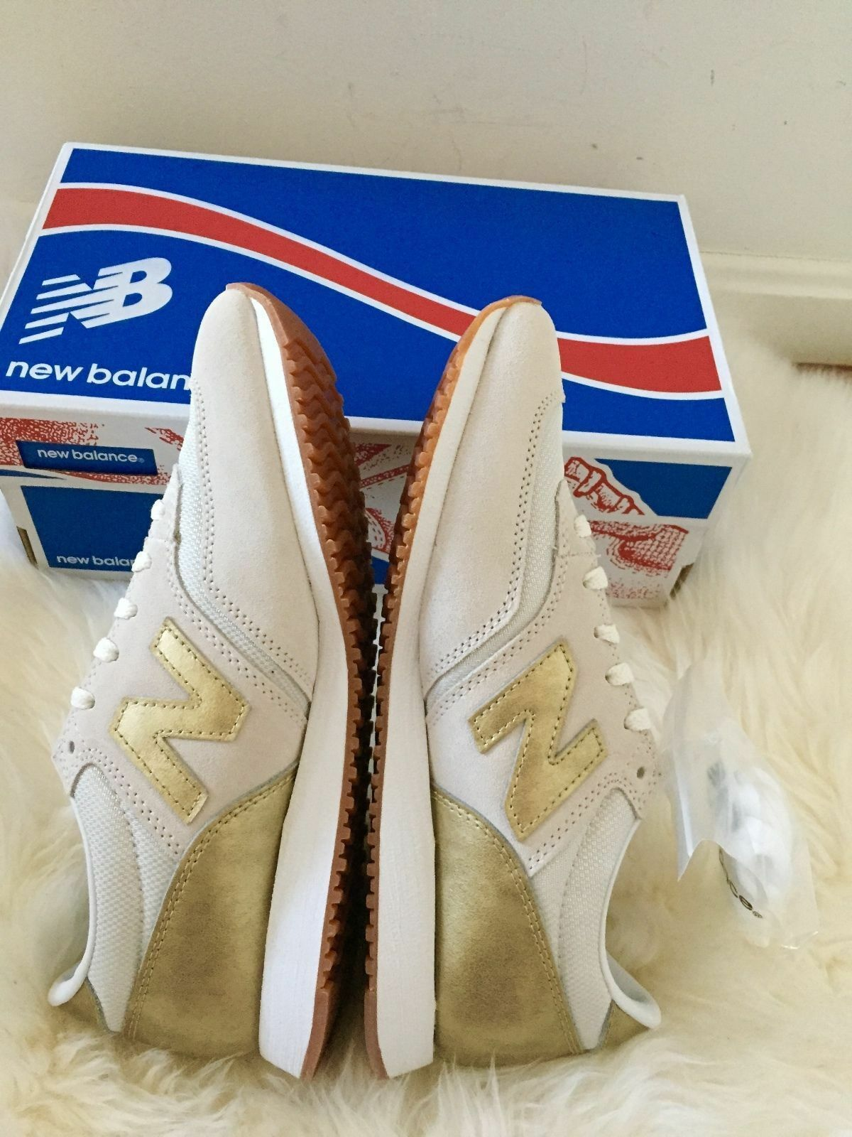 New in Box New balance 520 for J. CREW Baskets Or sel 6 6.5 7 7.5 8 8.5 9 9.5 10