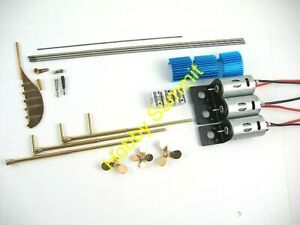 NEW-1-200-TITANIC-R-C-RUNNING-GEAR-Upgrade-Conversion-Set-Trumpeter-Kit-03719