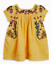 Girls-dress-NEXT-baby-9-12-18-months-1-5-2-3-4-years-NEW-yellow-embroidered thumbnail 2